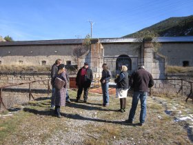 Visite des fortifications - Linking the Lines 20 novembre 2014 / Briançon